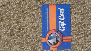 $50 Chicopee tube park giftcard