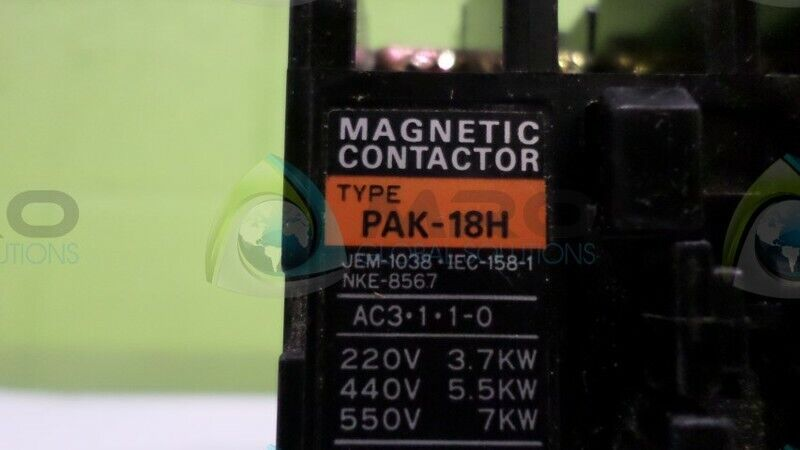 TOGAMI ELECTRIC PAK-18H MAGNETIC CONTACTOR *NEW NO BOX*