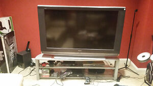 """55"""" Sony Wega TV and Stand for Sale"""