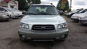 2004 Subaru forester used car ***safety & E-test***3995$