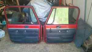YJ  Family Rollbar, Full steel doors....