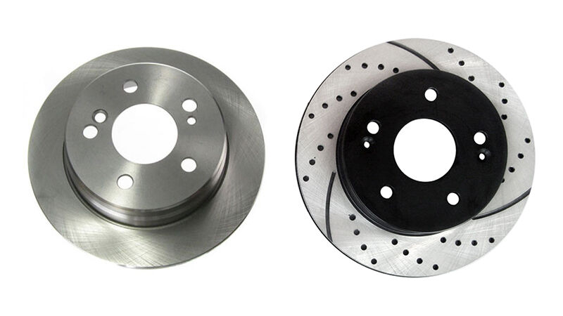 Solid and Cross Drilled Rotors a Comparison
