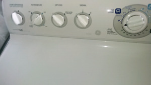 GE Washer + Dryer
