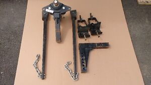 weight distribution hitch with extra shank