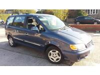 2004 04 HYUNDAI TRAJET 2.0 GSi,GREAT 7 SEATER.SAME OWNER SINCE 2008.TOWBAR ETC .