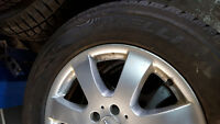 """Mercedes Benz truck mags with tires 17"""""""