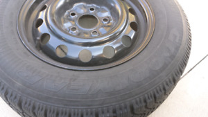 Winter tires set of 4 goodyear