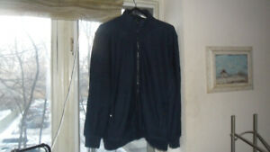 Calvin Klein Spring Cotton Bomber Jacket. New with tags.