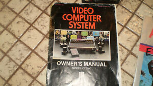 Atari 2600 wood grain system, storage box, etc. London Ontario image 4