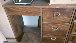 Great Space Saver 3 Drawer Desk - Mint Condition - $20