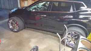 """Player 22"""" 5 Bolt Rims With Tires Windsor Region Ontario image 3"""