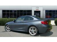 2014 BMW 2 Series 225d M Sport 2dr Step Auto Diesel Coupe Coupe Diesel Automatic