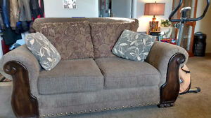 Ashley love seat for sale