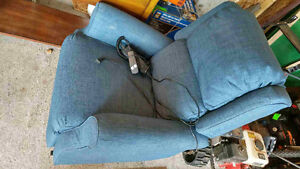 Stand up recliner chair