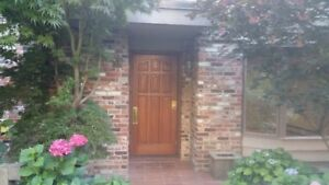 2 BR + Den - 1700 sf - townhouse in Shaughnessy +attached garage