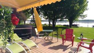 Maison bord de l'eau a vendre St-blaise sur Richelieu