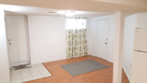 BASEMENT APARTMENT FOR SINGLE PROFESSIONAL BY SQUARE ONE  $950