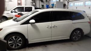 2015 Honda Odyssey Touring One Owner No GST Loaded