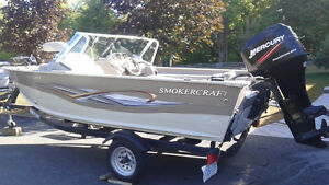 2005 Smoker Craft Boat & Trailer For Sale