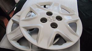 Honda original hubcaps/wheel covers plastic