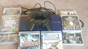 Ps3 w/8games