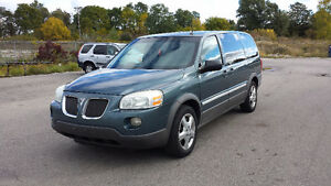 2005 Pontiac Montana with etest and DVD