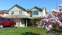 Fully furnished 2BR suite, ground level,ocean view,N.Nanaimo