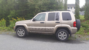 2007 Jeep Liberty LT and 2003 Jeep Liberty