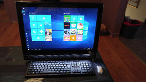 HP All In One touchscreen PC