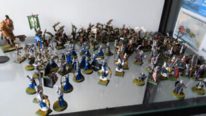 Warhammer Minis - mixed collection painted