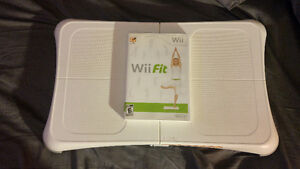 Wii Fit Board with Wii Fit