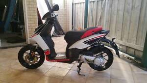 Aprilia moped scooter SR MT 50cc Hillarys Joondalup Area Preview