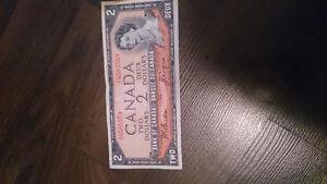 $2 bill from 1954