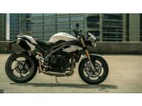 TRIUMPH SPEED TRIPLE 1050S PRE REG BARGAIN