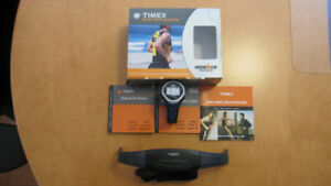 Timex heart rate monitor with watch and strap (Brand New)