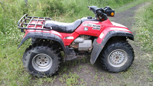 2000 Honda Foreman for only $1000