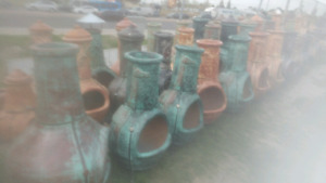 Kiln Fired Chimineas from Mexico