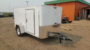 New H&H 5x10 enclosed cargo / utility trailer