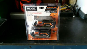 Rigid 18Volt Batteries