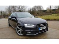 2013 Audi A4 S-line 2.0 TDI Auto Black Edition Saloon 1 Owner From New