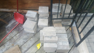 Interlock Stones and Concrete slabs $20 for everything