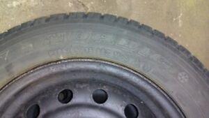 """15"""" Winter Tires & Rims 205/65/R15"""
