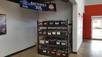Used batteries 6 month warranty/6 mois garantie chez Kenny