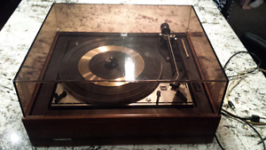 1970s Vintage Noresco Dual 1215 Turntable / Record Player