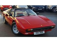 1984 FERRARI 308 GTS RIGHT HAND DRIVE ONLY 184 RIGHT HAND DRIVE VEHICLE