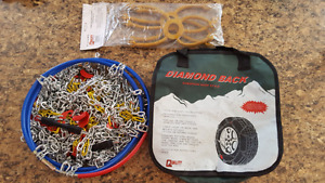 Tire Chains w/ Tensioners