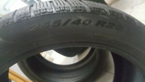 Pirelli Sottozero Winter Tires 255/40/R20 and 285/35/R20