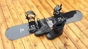 K2 snowboard set with Firefly boots LIKE BRAND NEW