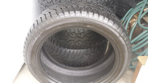 225 45 R17 Hercules Winter Tires For Sale Like New Condition