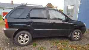 05 kia sportage for parts